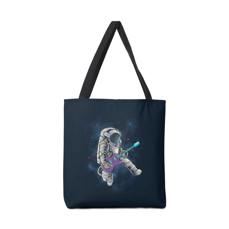 Rocker spaceman Accessories Tote Bag Bag by angoes25's Artist Shop