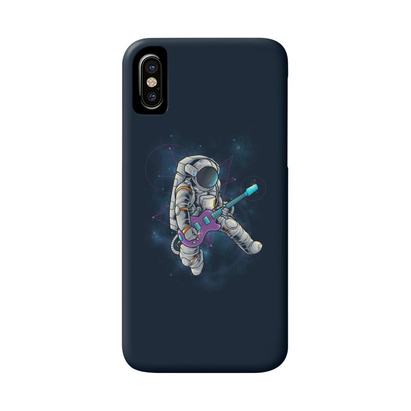 Rocker spaceman Accessories Phone Case by angoes25's Artist Shop