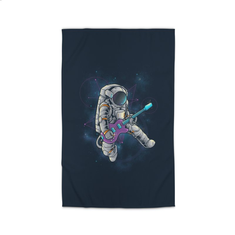 Rocker spaceman Home Rug by angoes25's Artist Shop