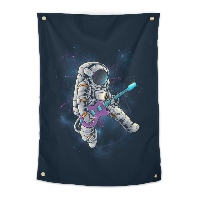 Rocker spaceman Home Tapestry by angoes25's Artist Shop