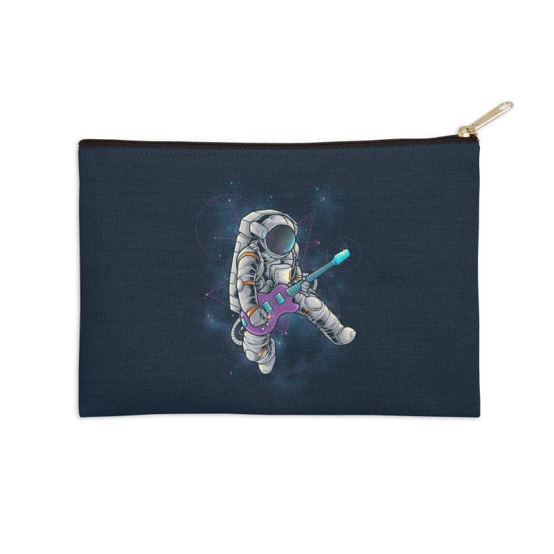 Rocker spaceman Accessories Zip Pouch by angoes25's Artist Shop