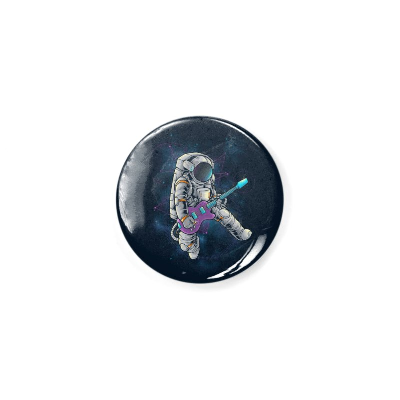 Rocker spaceman Accessories Button by angoes25's Artist Shop