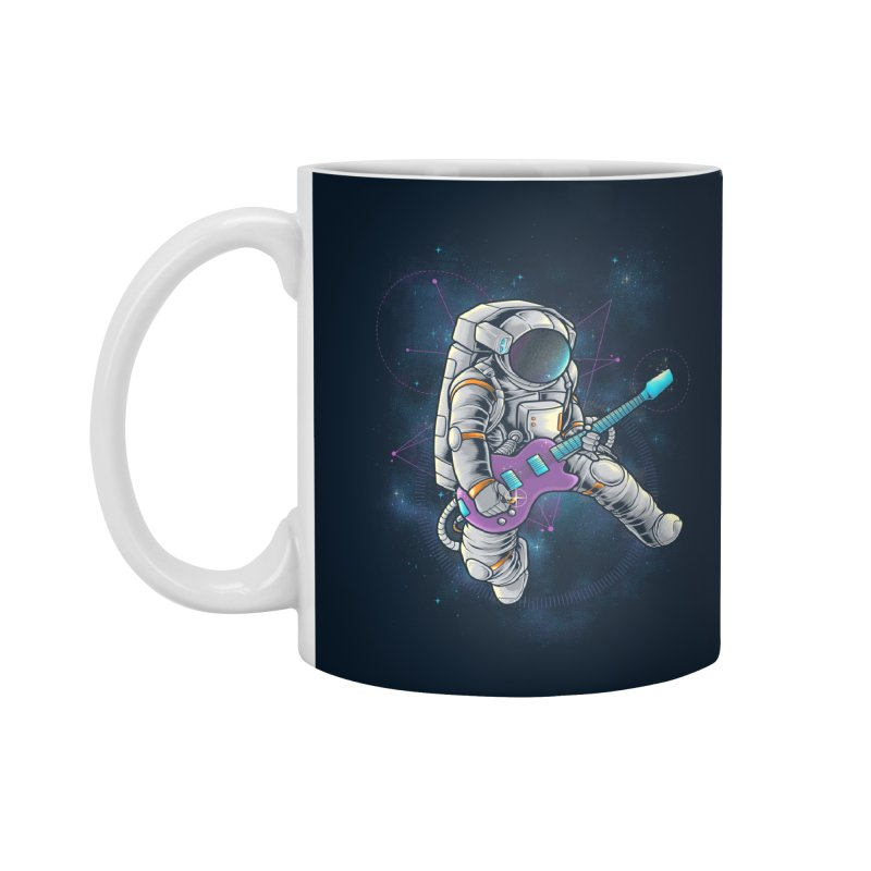 Rocker spaceman Accessories Standard Mug by angoes25's Artist Shop