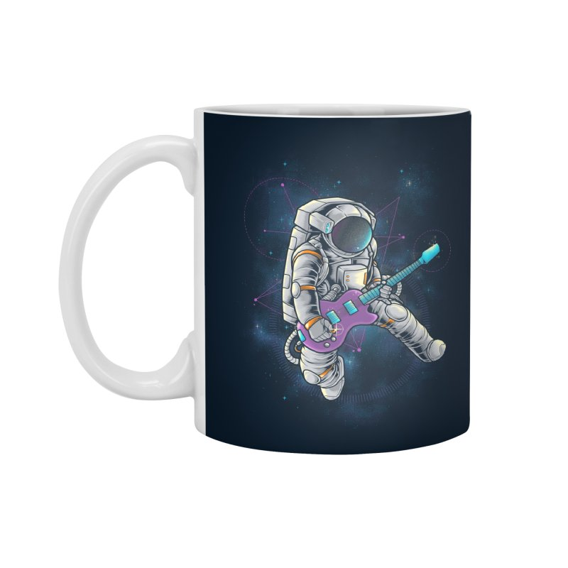 Rocker spaceman Accessories Mug by angoes25's Artist Shop