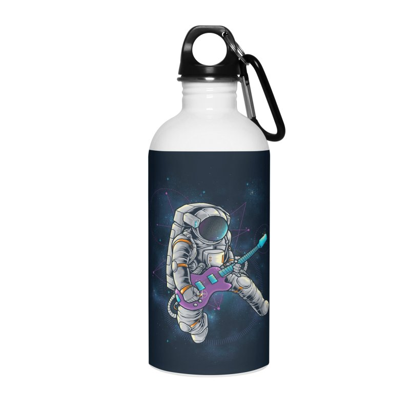Rocker spaceman Accessories Water Bottle by angoes25's Artist Shop