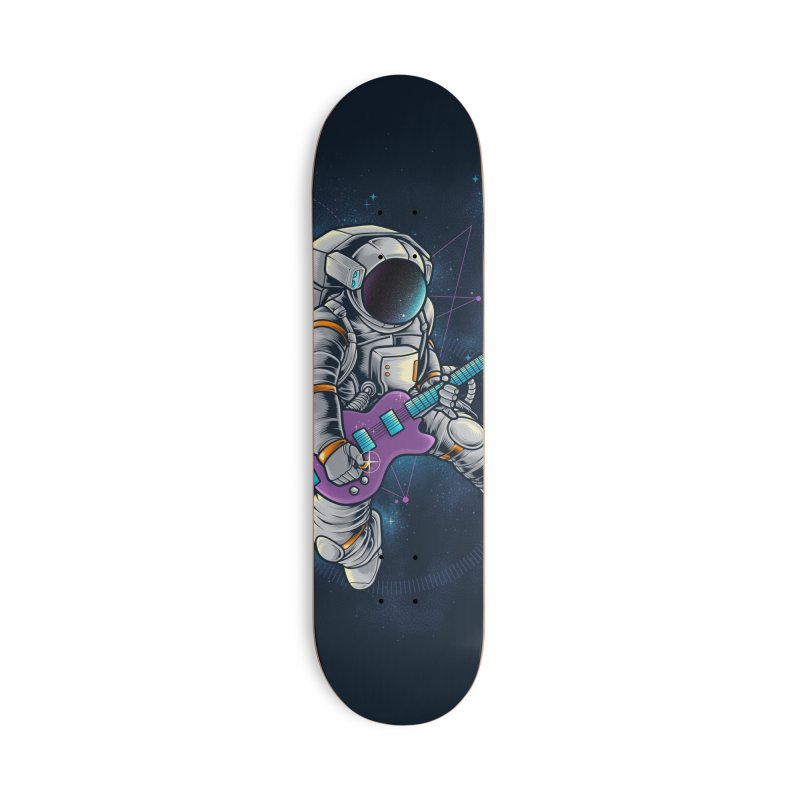 Rocker spaceman Accessories Skateboard by angoes25's Artist Shop
