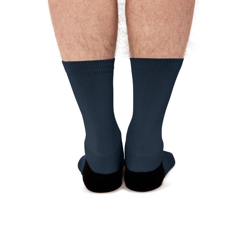 Rocker spaceman Men's Socks by angoes25's Artist Shop