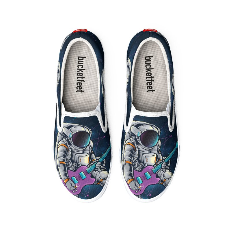 Rocker spaceman Women's Shoes by angoes25's Artist Shop