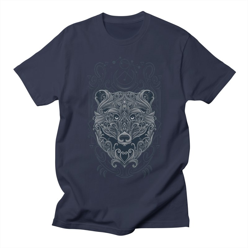 Bear of Wildness Spirit Men's Regular T-Shirt by angoes25's Artist Shop