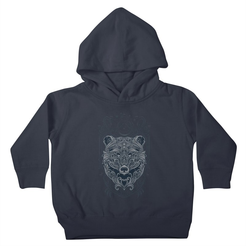 Bear of Wildness Spirit Kids Toddler Pullover Hoody by angoes25's Artist Shop