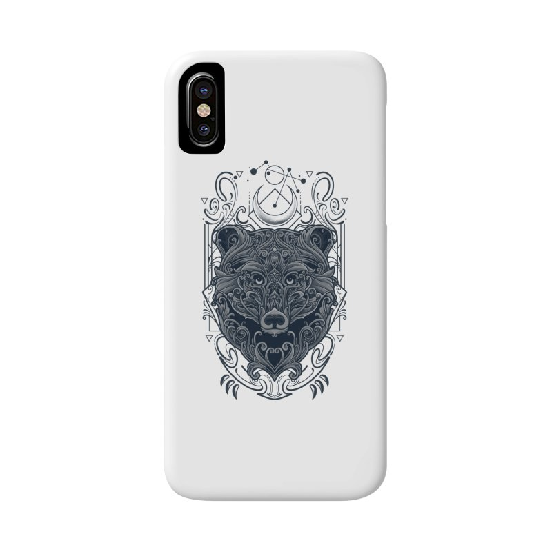 Bear of Wildness Spirit Accessories Phone Case by angoes25's Artist Shop