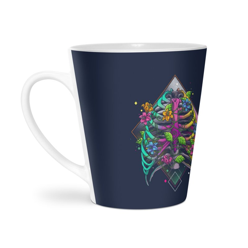 Psychederib Accessories Latte Mug by angoes25's Artist Shop