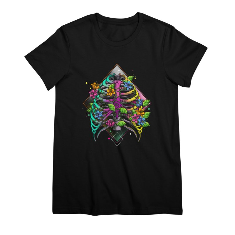 Psychederib Women's Premium T-Shirt by angoes25's Artist Shop