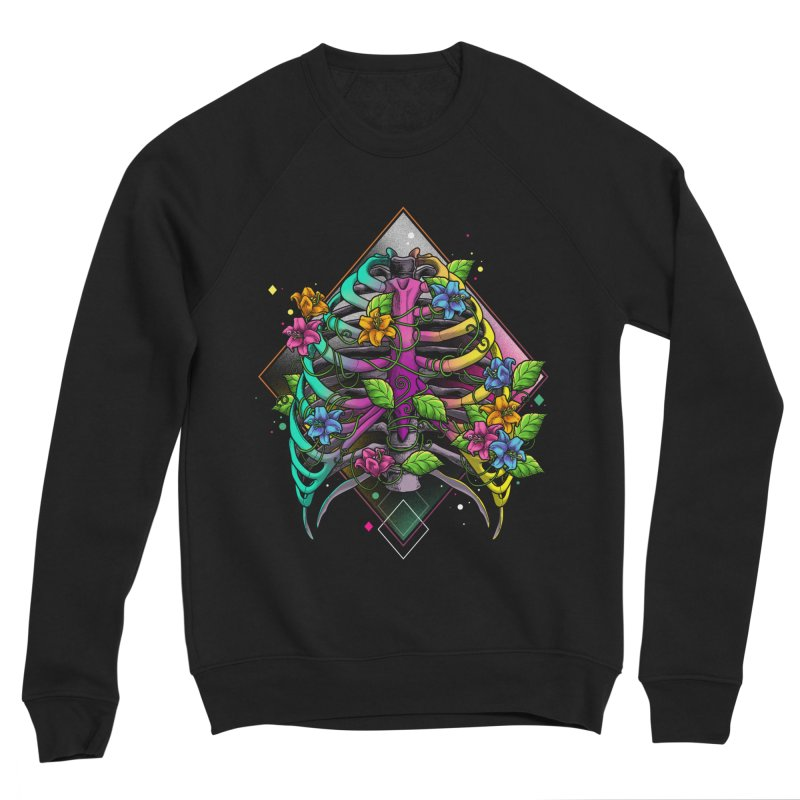Psychederib Men's Sponge Fleece Sweatshirt by angoes25's Artist Shop