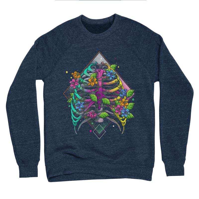Psychederib Men's Sponge Fleece Sweatshirt by angoes25's Artist Shop
