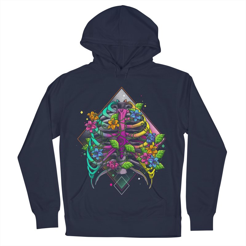 Psychederib Women's French Terry Pullover Hoody by angoes25's Artist Shop
