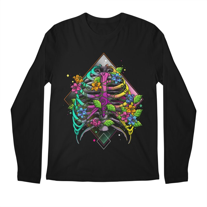 Psychederib Men's Longsleeve T-Shirt by angoes25's Artist Shop