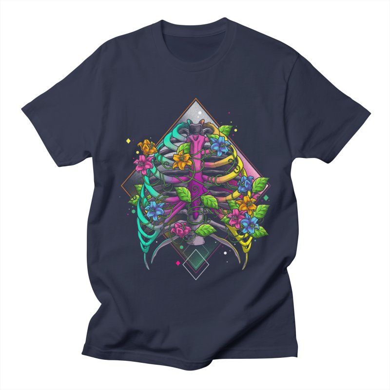 Psychederib Men's Regular T-Shirt by angoes25's Artist Shop