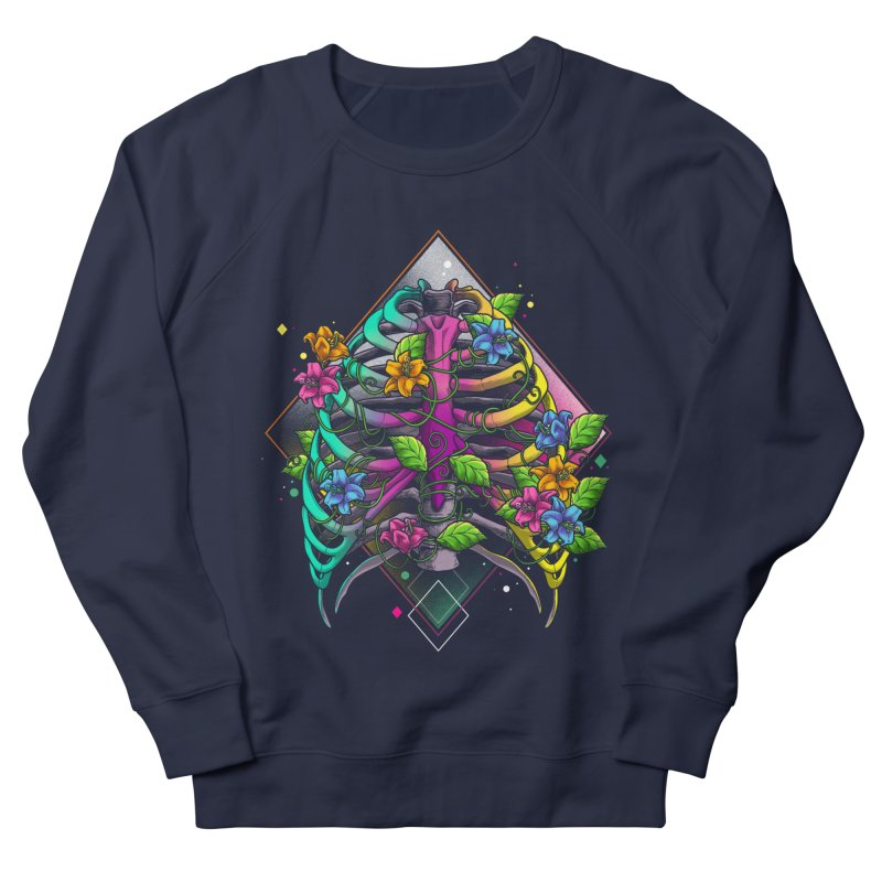Psychederib Women's French Terry Sweatshirt by angoes25's Artist Shop