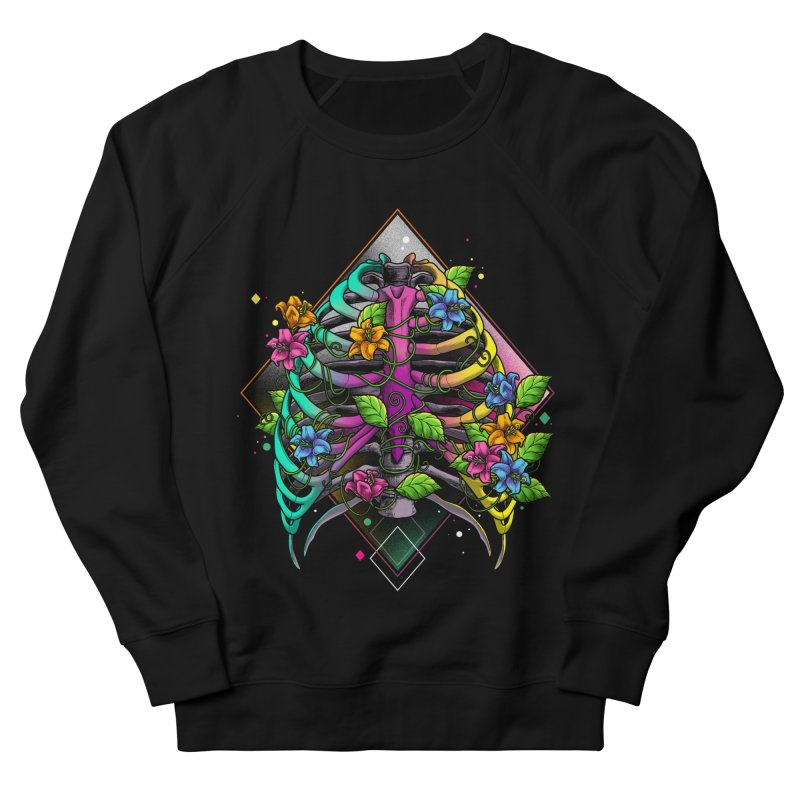 Psychederib Men's French Terry Sweatshirt by angoes25's Artist Shop