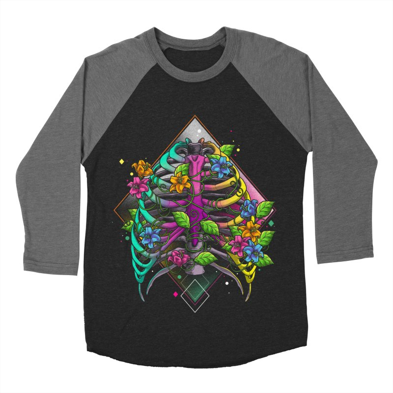 Psychederib Women's Baseball Triblend Longsleeve T-Shirt by angoes25's Artist Shop