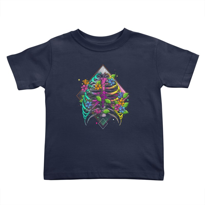 Psychederib Kids Toddler T-Shirt by angoes25's Artist Shop