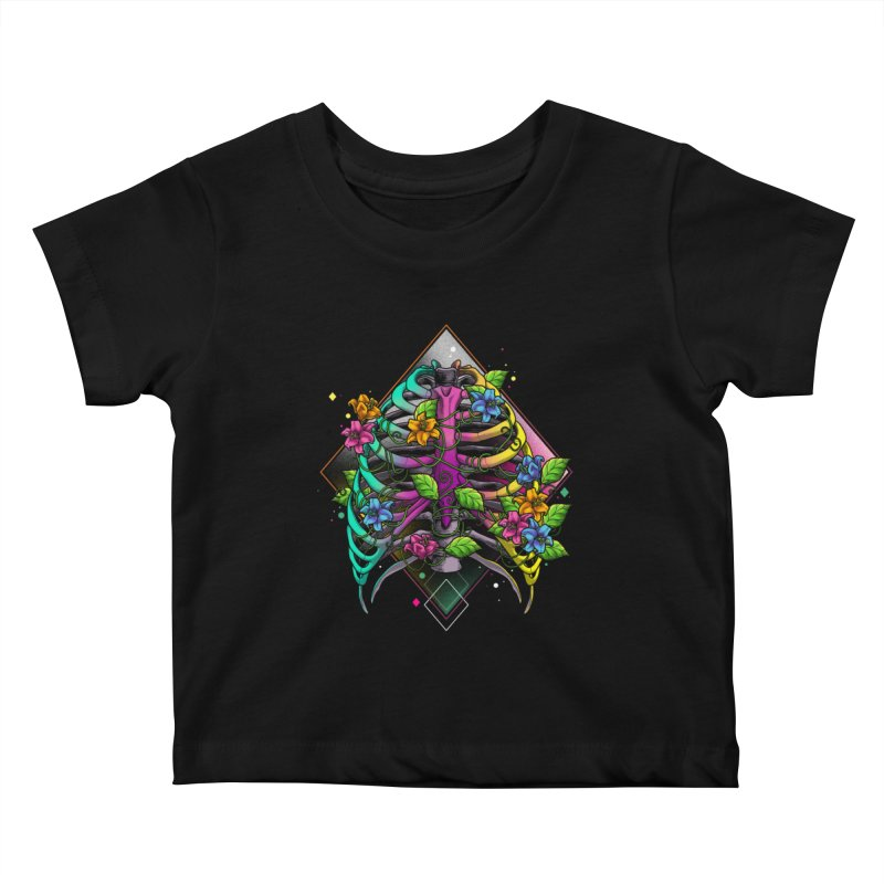 Psychederib Kids Baby T-Shirt by angoes25's Artist Shop