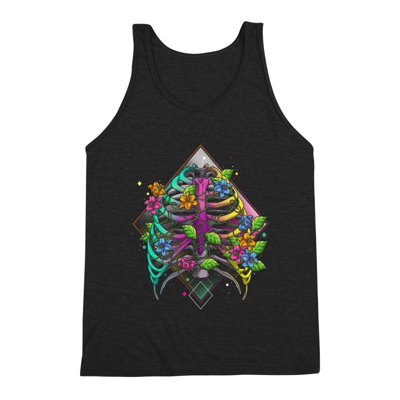 Psychederib Men's Triblend Tank by angoes25's Artist Shop
