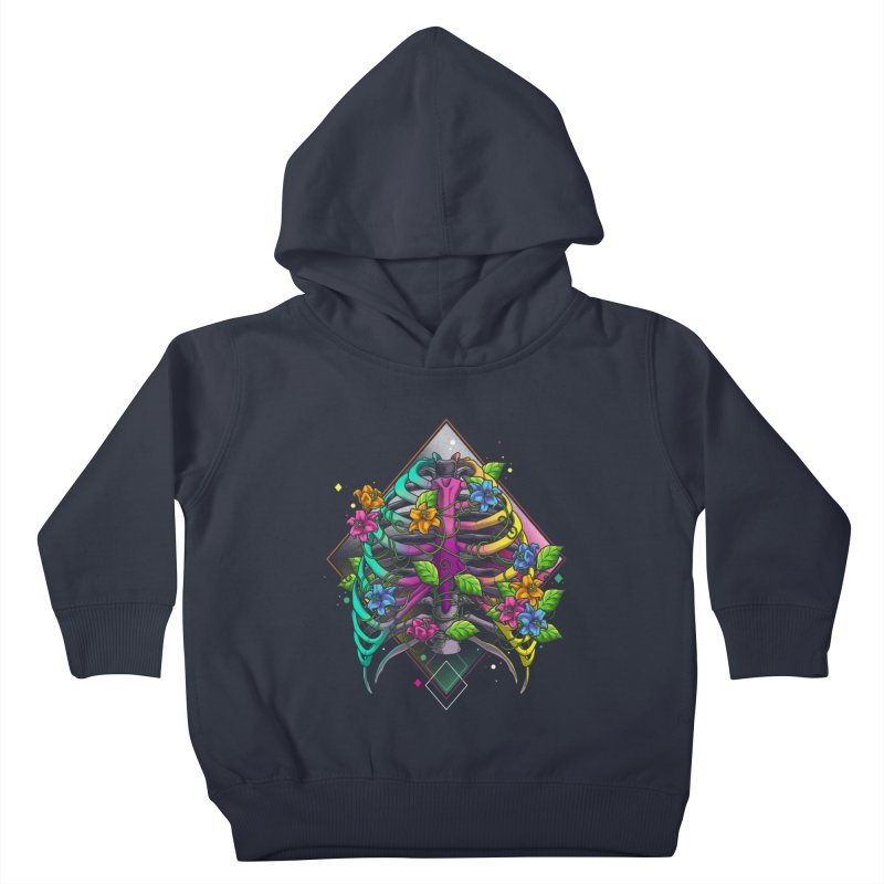 Psychederib Kids Toddler Pullover Hoody by angoes25's Artist Shop