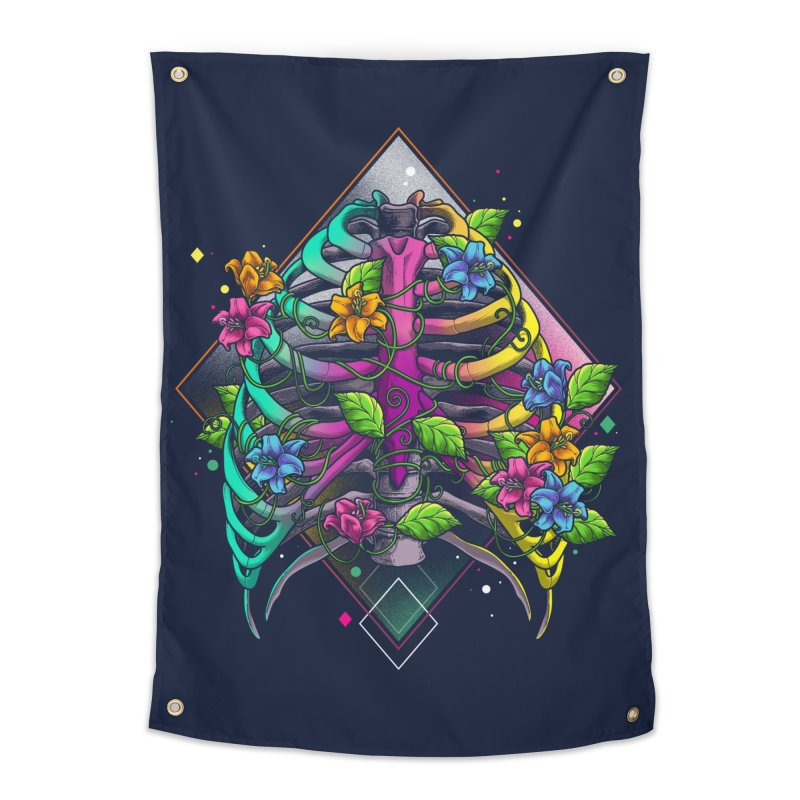 Psychederib Home Tapestry by angoes25's Artist Shop