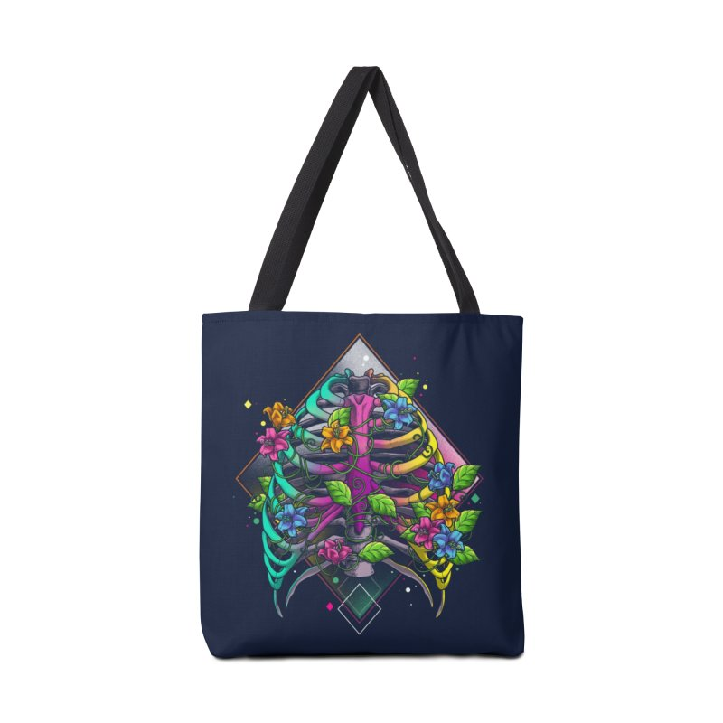 Psychederib Accessories Tote Bag Bag by angoes25's Artist Shop