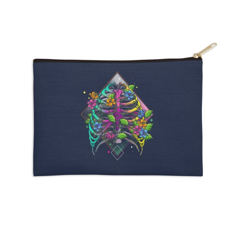 Psychederib Accessories Zip Pouch by angoes25's Artist Shop