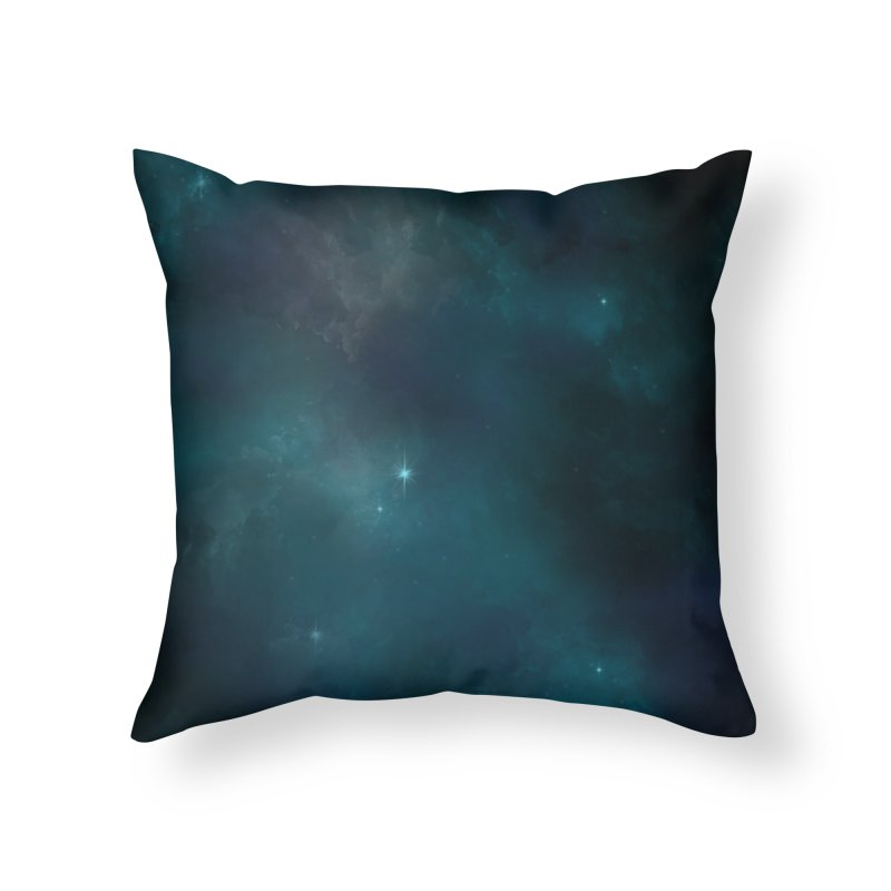 Solitude Home Throw Pillow by angoes25's Artist Shop