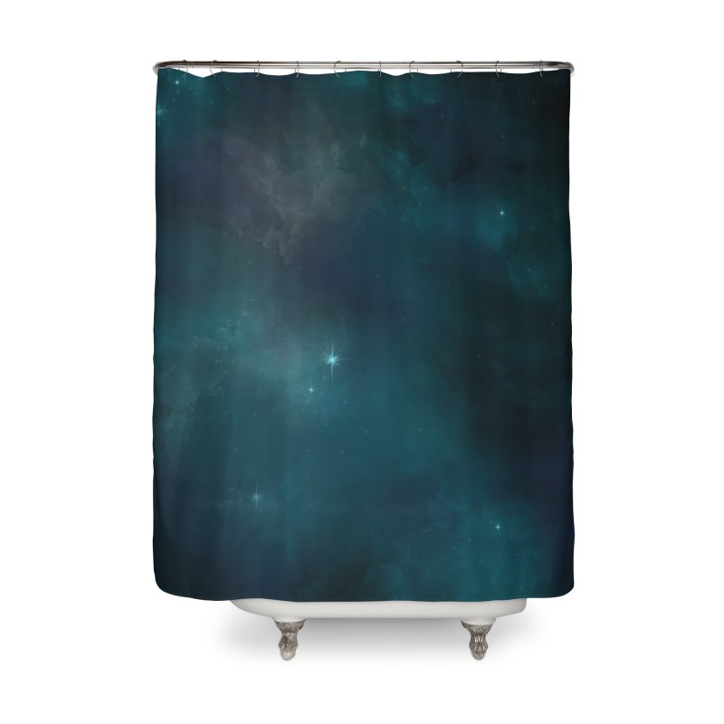 Solitude Home Shower Curtain by angoes25's Artist Shop