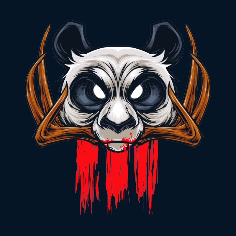 Bad Panda None  by angoes25's Artist Shop