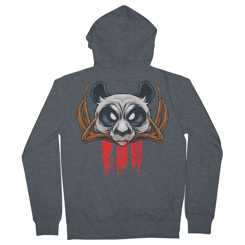 Bad Panda Women's Zip-Up Hoody by angoes25's Artist Shop