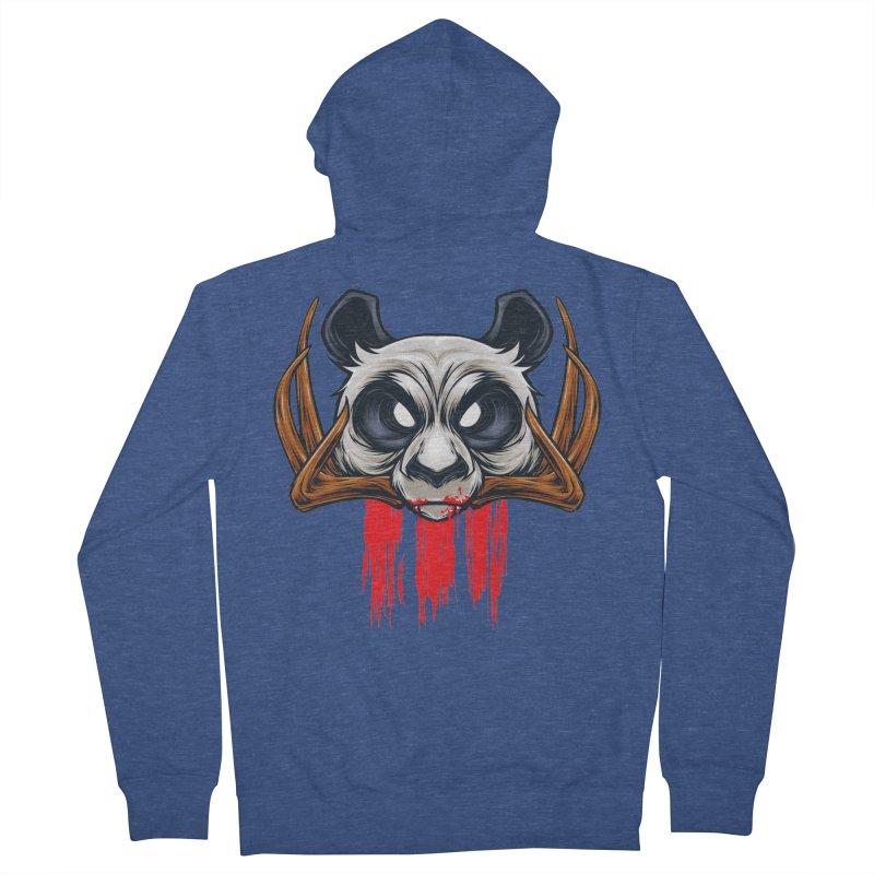 Bad Panda Men's Zip-Up Hoody by angoes25's Artist Shop