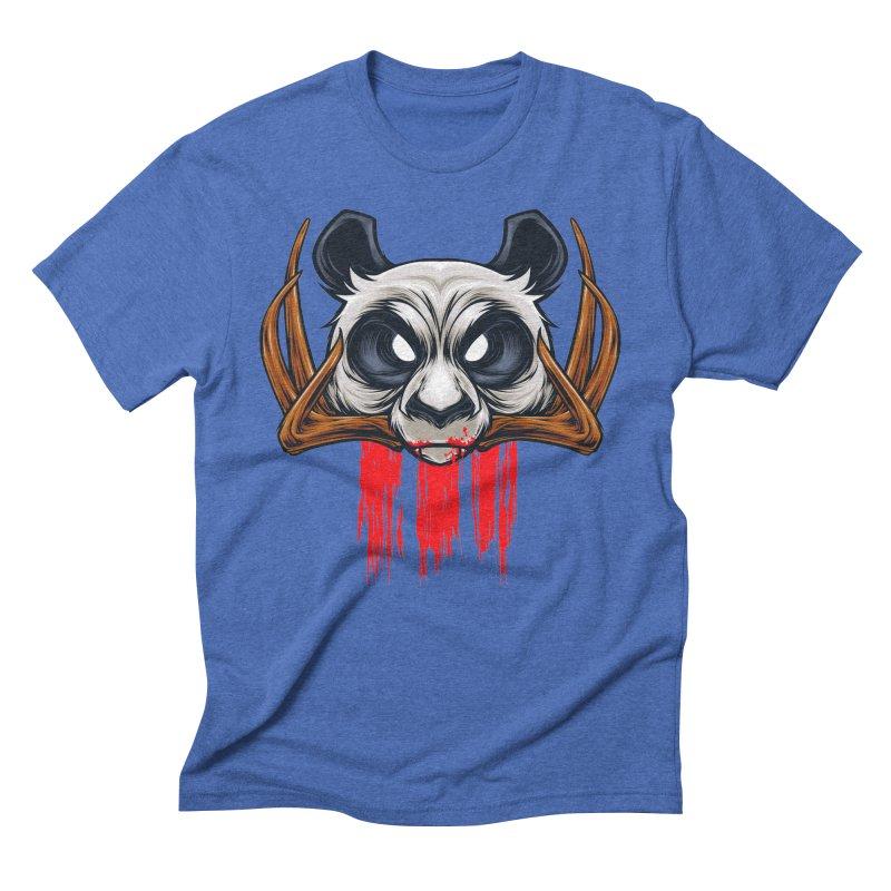 Bad Panda Men's Triblend T-shirt by angoes25's Artist Shop