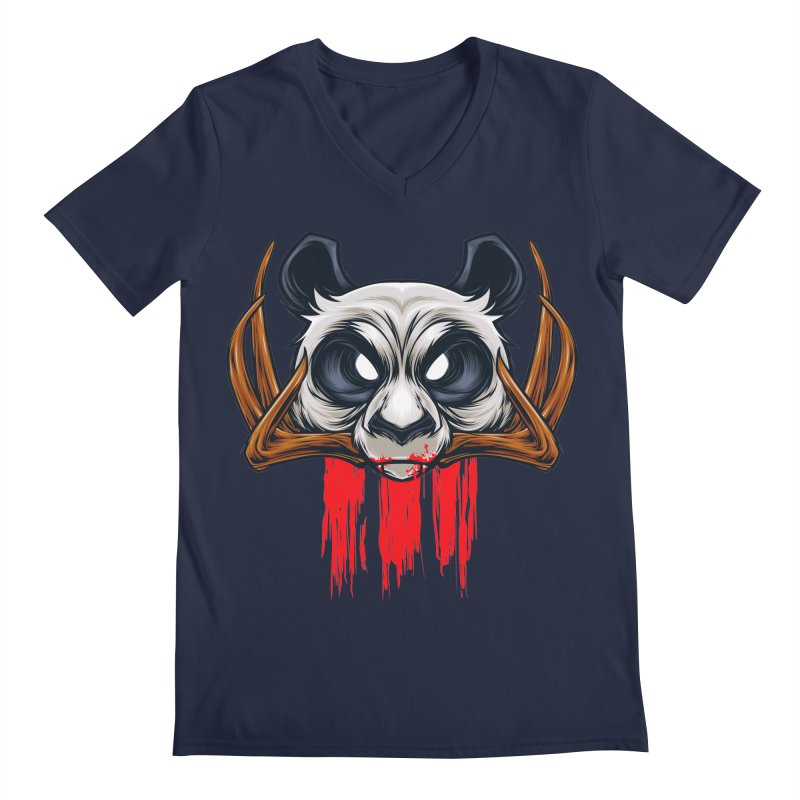 Bad Panda Men's V-Neck by angoes25's Artist Shop