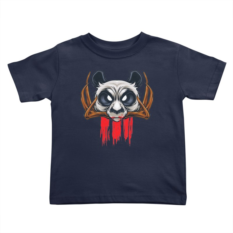 Bad Panda Kids Toddler T-Shirt by angoes25's Artist Shop