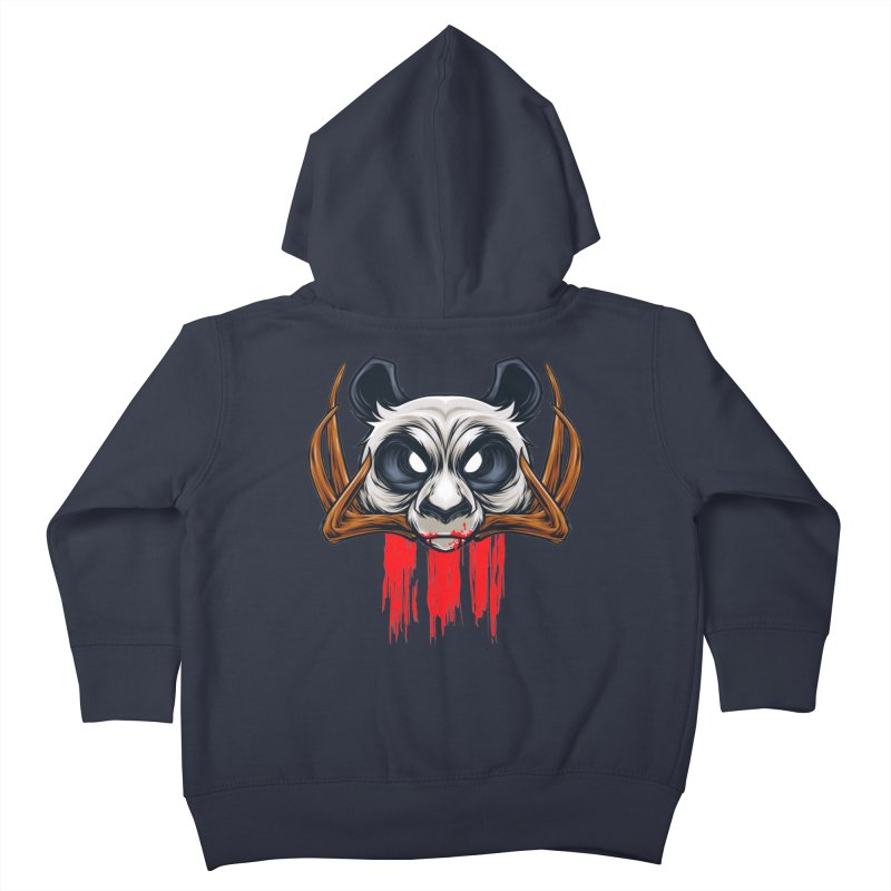 Bad Panda Kids Toddler Zip-Up Hoody by angoes25's Artist Shop