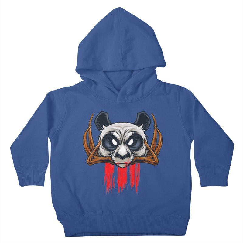 Bad Panda Kids Toddler Pullover Hoody by angoes25's Artist Shop