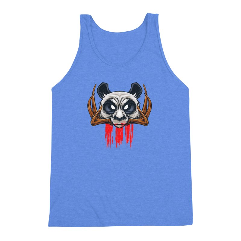 Bad Panda Men's Triblend Tank by angoes25's Artist Shop