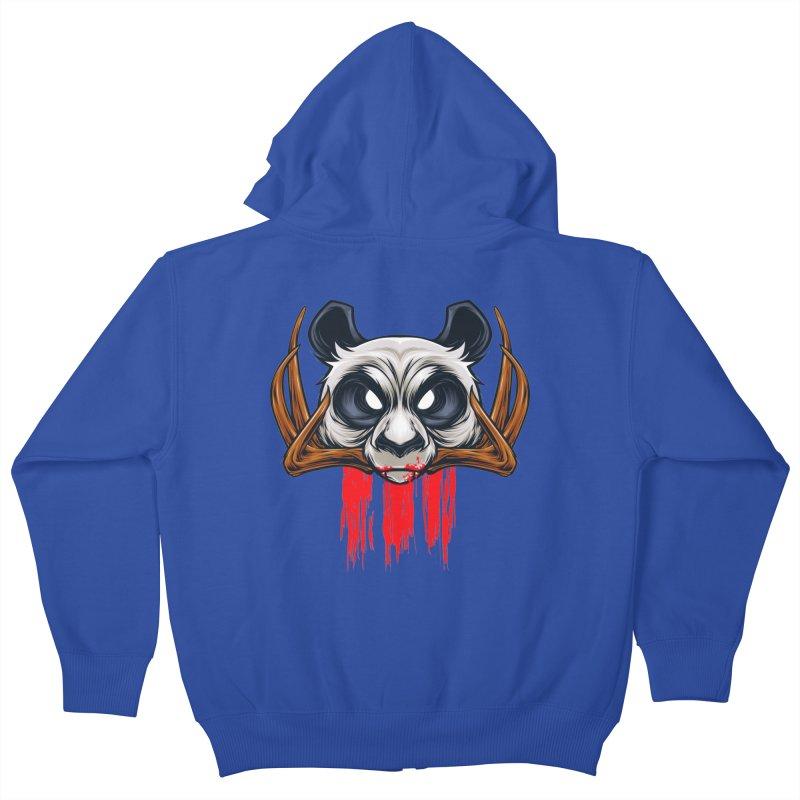 Bad Panda Kids Zip-Up Hoody by angoes25's Artist Shop