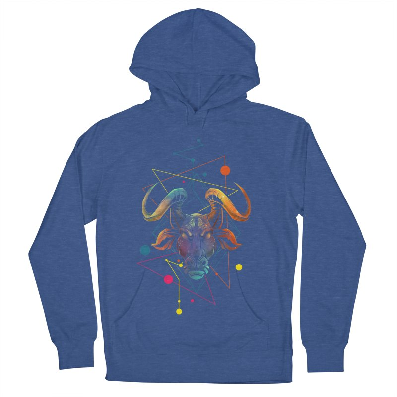Taurus Women's French Terry Pullover Hoody by angoes25's Artist Shop