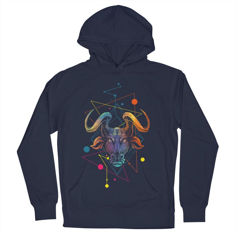Taurus Men's French Terry Pullover Hoody by angoes25's Artist Shop