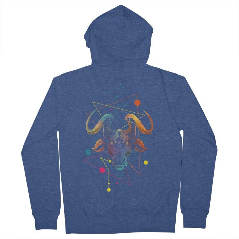Taurus Men's Zip-Up Hoody by angoes25's Artist Shop