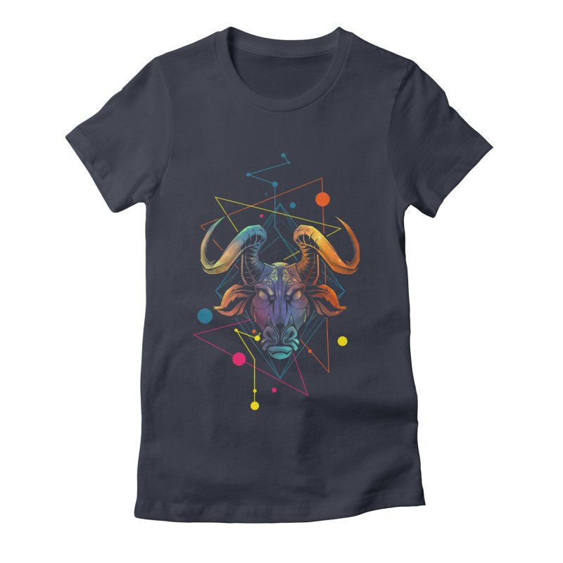 Taurus Women's Fitted T-Shirt by angoes25's Artist Shop