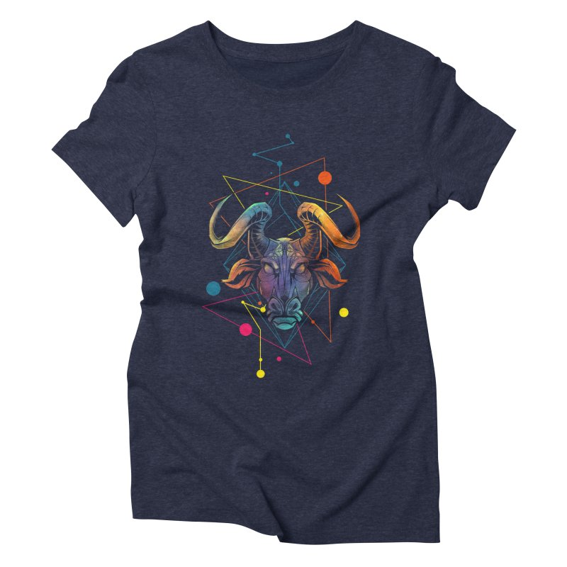 Taurus Women's Triblend T-Shirt by angoes25's Artist Shop