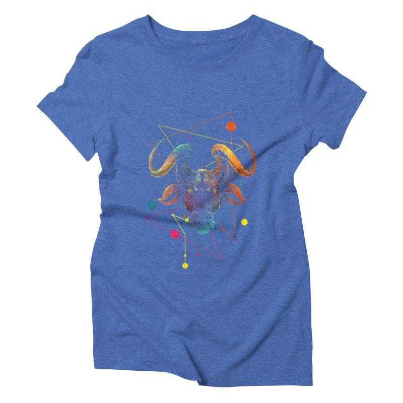 Taurus Women's Triblend T-shirt by angoes25's Artist Shop